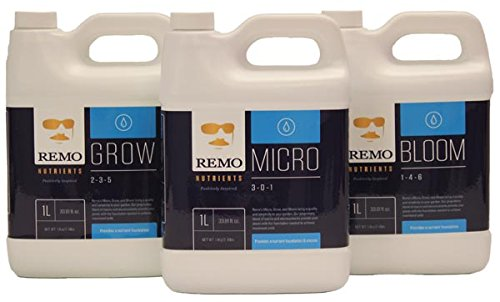 Remo Nutrients Micro, Grow, Bloom 1 Liter