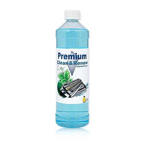 1 Liter Premium Scherkopfreiniger zum Nachfüllen von Braun Clean&Charge Stationen der Serie: 9070cc / 9075cc / 9090cc