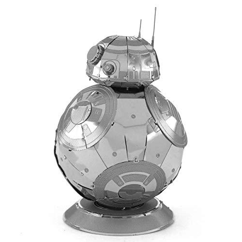 3D Fascinations Metal Earth Puzzle - Star Wars BB-8 - DIY 3D Model Kit / Metal Jigsaw Puzzle