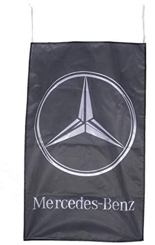 Cyn Flags Mercedes Benz VERTIKAL Fahne Flagge 2.5x5 ft 150 x 90 cm