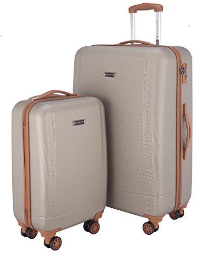 Hauptstadtkoffer Luggage Set, Champagne, set of 2