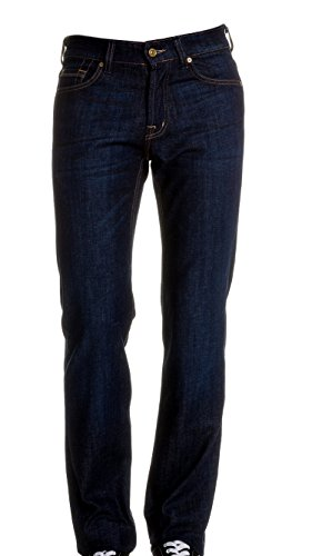 7 For All Mankind - Jean Standard Coupe Droite Bleu Marine - T. W28/L34 (US) - Homme
