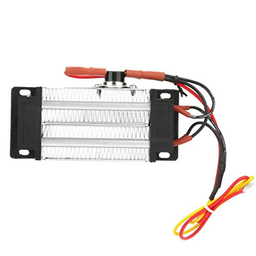 Calentador de aire de cerámica PTC, tubo de aluminio aislado de 110 V, adecuado para acondicionadores de aire, calentadores eléctricos, medidores, electrodomésticos en general(110V300W)