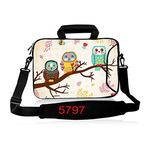 Multifunction 10 1 11 6 13 3 15 4 15 6 17 3 inch Notebook beschermhoes Computer Laptop schouder Sleeve Bag voor Macbook Air Pro SB-23886 15 inch Uil