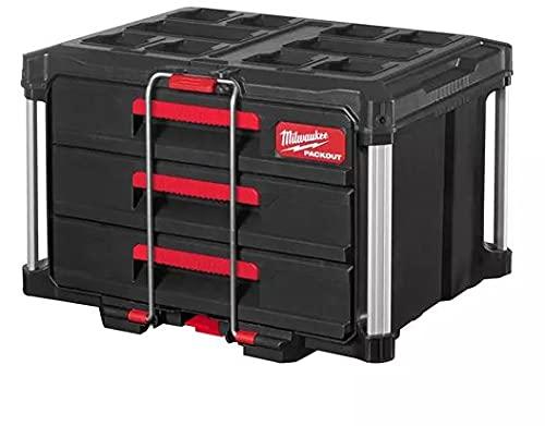 PACKOUT Koffer mit 3 Schubladen 4932472130