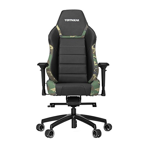 Product Image 2: Vertagear P-Line 6000 Racing Series Gaming Chair, X-Large, Black/Camouflage