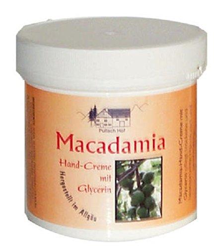 Macadamia Crème pour les mains à la glycérine 250 ml Beurre de Karité