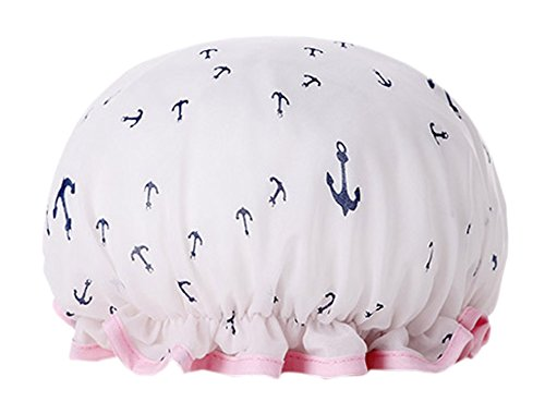 [Océan] PEVA Multifonctionnel Double couche Caps Blanc