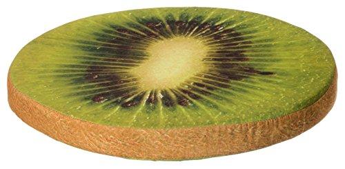 Brandsseller Frucht-Sitzkissen Dekokissen Stuhlkissen Zierkissen - Größe: ca. 40 x 4 cm - Kiwi
