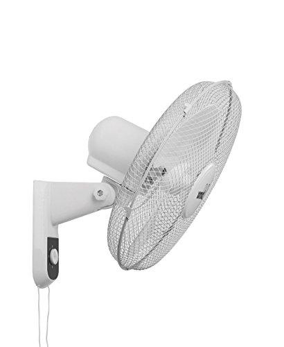bimar Ventilatore da Parete Muro Corpo ABS 3 Velocita  Ø 40 CM VM 41