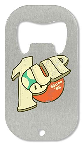 ShutUp 1UP Soda Since '85 flesopener