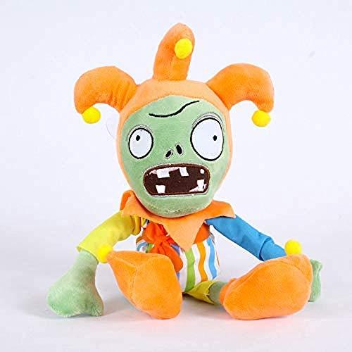 N/D Kuscheltier 30cm Pflanzen gegen Zombies 2 Zombie Cosplay Clown Plüschtier Puppe PVZ Clown Zombie Plüsch Weich Kuscheltier Geschenke für Kinder Kinder