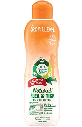 TropiClean Natural Flea & Tick Shampoos for Dogs