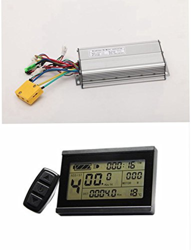 NBPOWER 48 V 1500 W 35 A Brushless DC Motor Controller eBike Controller + kt-lcd3 Display One Set verwendet für 1500 W eBike Kit.