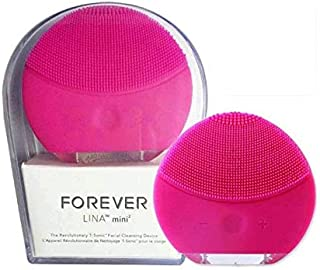 Forever Lina Mini Facial Cleansing Brush Magenta