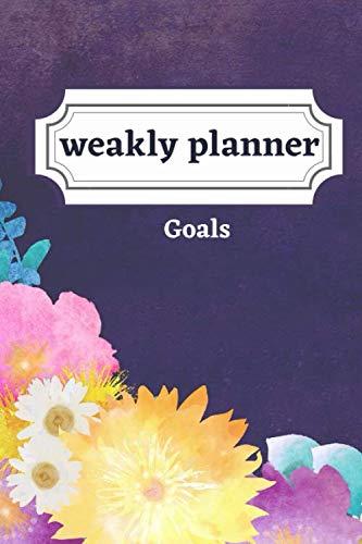 weakly planner Goals: Weakly Calendar Planner Goals And To Do List