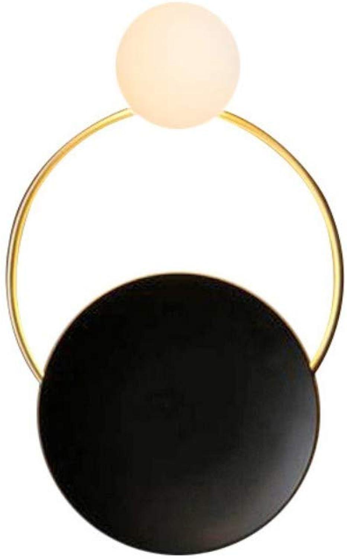 YreX1n Led Postmodern Kreative Wandleuchte Persnlichkeit Hardware Wohnzimmer Wandleuchte Kunst Nachttischlampen Schlafzimmer Design Dekorative Wandlampen