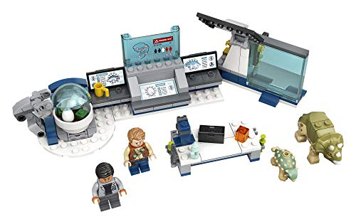 LEGO Jurassic World Dr. Wu's Lab: Baby Dinosaurs Breakout 75939 Fun Dinosaur Toy Building Kit, Featuring Owen Grady, Plus Baby Triceratops and Ankylosaurus Toy Dinosaur Figures (164 Pieces)