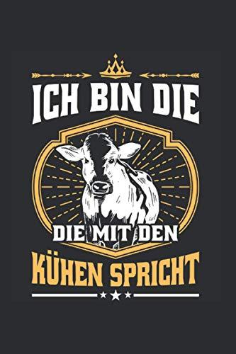 Landwirt Rinder Notizbuch: Rinder Spruch Highland Cattle Kühe Landwirt Geschenk / 6x9 Zoll / 120 gepunktete Seiten