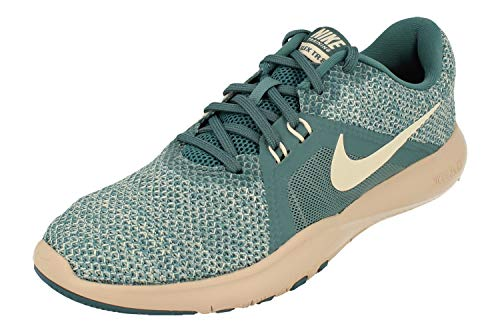 Nike Damen W Flex Trainer 8 Fitnessschuhe, Mehrfarbig (Celestial Teal/Guava Ice/Light Silver 400), 37.5 EU