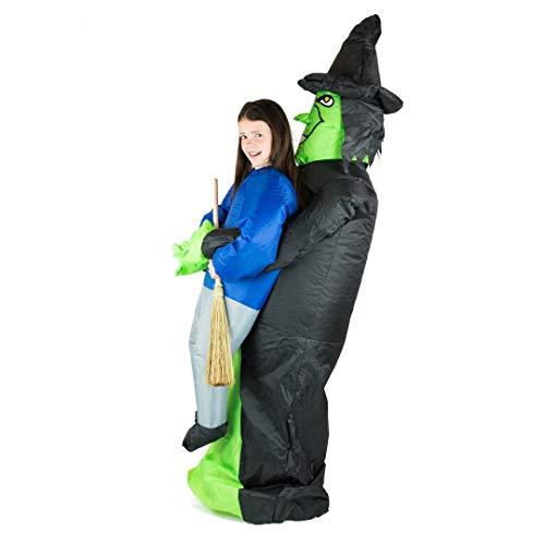 Bodysocks® Disfraz Hinchable de Bruja Niño