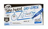 Crayola Low Odor Dry Erase Markers, Blue Chisel Tip, Office & School Supplies, 12Count