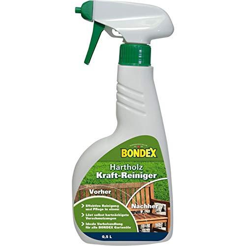 Bondex 329628 - Limpiador de madera dura (0,50 l), incoloro