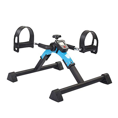 L.HPT Ejercitador de Pedal médico Plegable con Pantalla electrónica para Entrenamiento de piernas y Brazos, Ancianos, rehabilitación de Pacientes, Equipo de Gimnasio para Personas Mayores