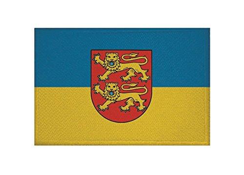 U24 Aufnäher Duderstadt Fahne Flagge Aufbügler Patch 9 x 6 cm