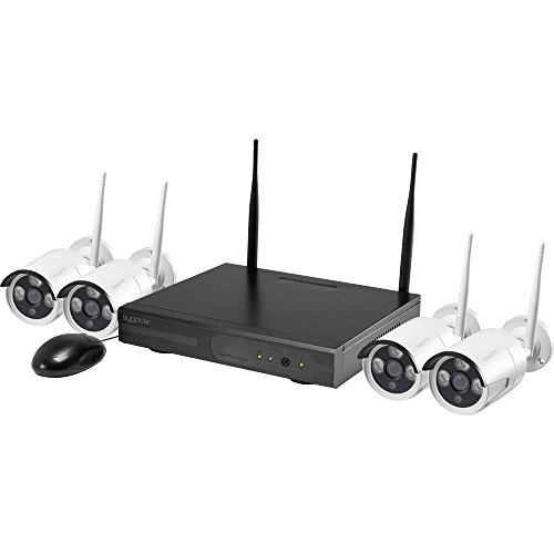 Sygonix 355791D1 / 1522017 Funk-Überwachungskamera-Set mit 4 Kameras