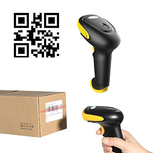 Esky ES017 Handheld USB Wired Barcode Scanner - Automatic 1D and 2D QR Code Reader Photo #4