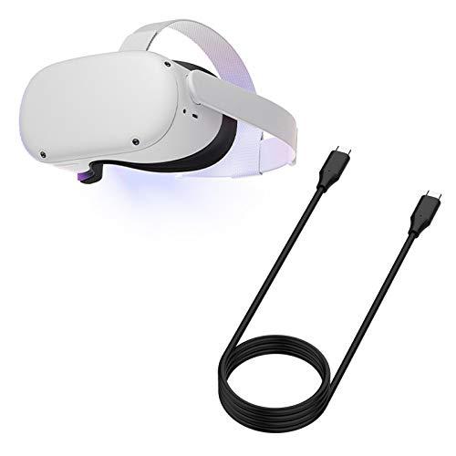 QIN Oculus Quest 2 VR Oculus Link ケープル 3M 10Gbps高速転送データケーブル USB 3.1 PC接続用 Type C ケーブル コンピュータ対応 steam オキュラス クエスト VR用