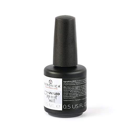 UV/LEDMATTE TOP COAT voor ieder merk GELLAK, GEL POLISH, GEL NAGELLAK,NAGELLAK!Geniet 2-3 weken van perfect gelakte nagels.