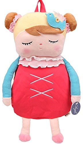 Sac à dos cartable école maternelle poupée pour fille