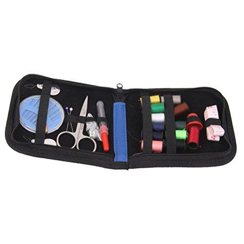 Pixnor Kit25pcs accessoires main professionnel survie Compact réparation de couture pour la maison cuisine exterieur