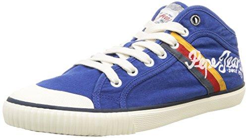 Pepe Jeans Industry Teen, Herren Sneaker, Blau - Blau - Bleu (578 Prussian) - Größe: 43