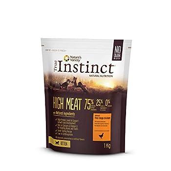 True Instinct High Meat Kitten - Nature's Variety - Croquettes pour Chaton avec Poulet Désossée - 1kg