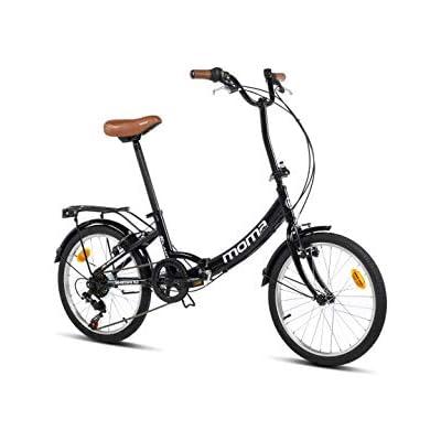 Moma Bikes Bicicleta Plegable Urbana SHIMANO FIRST CLASS 20\