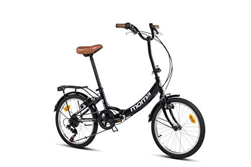 "Moma Bikes Bicicleta Plegable Urbana SHIMANO FIRST CLASS 20"""