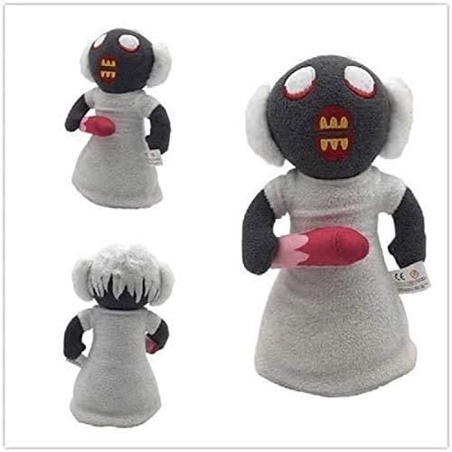 Cfxqvw Juguete de Peluche Dulce Juego de suspenso Abuela de Terror Juguete de Peluche Mundo Virtual muñeca Creativa Regalo para niños 25 cm