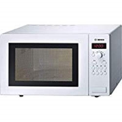 Bosch Series 2 HMT84M421B White Freestanding Microwave with 900W, 25 litres Capacity, 5 Power Levels and LED Display