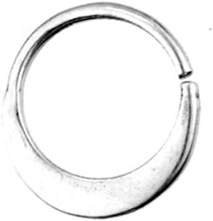 CHICNET Piercing per naso, anello per labret, orecchio, donna, uomo, donna, helix, conch, trago, daith, nostril septum, in...
