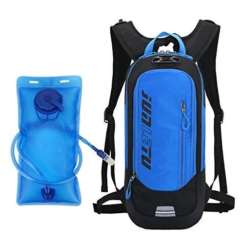 YL-gongsi Mochila de hidratación vejiga de 2 l, mochila para mujer y hombre para correr MTB, ciclismo, maratón, senderismo, sendero, mochila de hidratación ligera