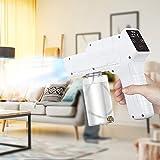 PaNt Pistola De Vapor Nano 350ml Pulverizador Nebulizador Portátil, Eléctrico Fogger Atomizador con Esterilización Temporizada De Niebla Portátil para Oficina, Hogar, Automóvil