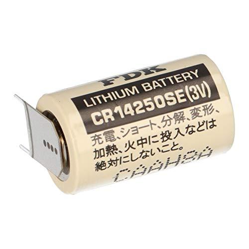 Unbekannt SANYO/FDK CR14250SE Laser Lithium Batterie 3,0Volt mit 3er Print