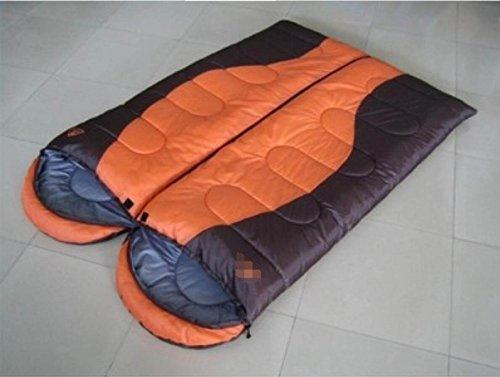 ZHANGHAOBO Outdoor Camping Sacs De Couchage Chauds Gros Sacs De Couchage épais avec Type De Enveloppe De Chapeau Peut Lutter Contre Le Double,A1