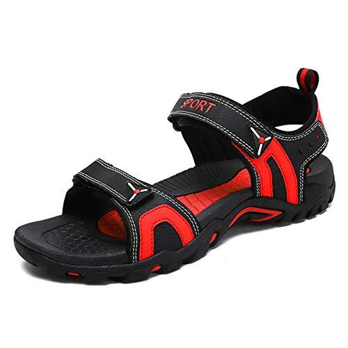 Sandalias de Verano Zapatillas para Hombre Anti Slid Soft Flat Sole Desgaste Resistente Zapatos Casual Chanclas Sandalias de Playa al Aire Libre para Sun Bath Pool Sports