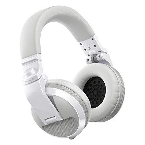 Pioneer DJ HDJ-X5BT-W Auriculares Bluetooth, Blanco