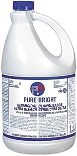 KI Pure Bright BLEACH6 Liquid Bleach, 1 Gallon Bottle (Case of 6)