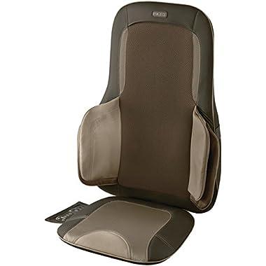 HoMedics Air Compression + Shiatsu Massage Cushion with Heat - MCS-775H - Melts Away Muscle Tension
